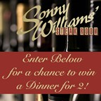 Sonny Williams Dinner for 2