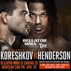 BELLATOR MMA APRIL 2016