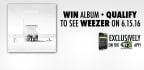 Win Weezer's New Album!