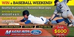 Win a VIP Baseball Weekend