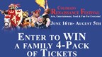 Enter to WIN a Family 4-Pack of Tickets to the Colorado Renaissance Festival!