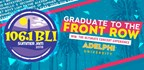 ADELPHI UNIVERSITY�S �GRADUATE TO FRONT ROW BLI SUMMER JAM TICKETS!�