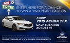 Zip Trip 2018 Car Lease Giveaway