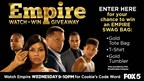 EMPIRE WATCH 'N' WIN GIVEAWAY - no good