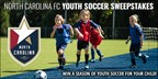 NC Football Club Youth Soccer Sweepstakes