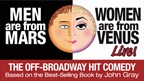 Men are from Mars Women are from Venus Live ticket giveaway