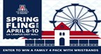 Spring Fling Ticket Sweepstakes