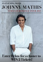 Johnny Mathis 6/3-8/31