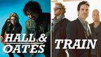 Daryl Hall and John Oates and Train