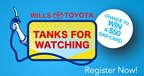Wills Toyota Tanks for Watching