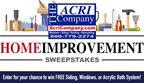 The ACRI Company Home Improvement Sweepstakes