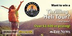 Win a Thrilling Helicopter Tour
