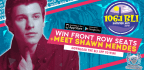 WIN FRONT ROW BLI SUMMER JAM 2018 TICKETS AND MEET & GREET WITH SHAWN MENDES!