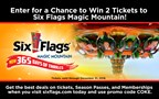 Six Flags Ticket Giveaway