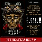 MH - SICARIO DAY OF SOLDADO Screening