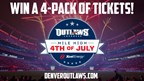 Enter to WIN a 4-Pack of tickets to the Denver Outlaws at Mile High on the 4th of July!