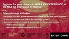 2018 MLS All-Star Game Sweepstakes