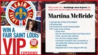 Go! Magazine | Fair St. Louis VIP Giveaway with Martina McBride