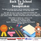 Back To School VIP Sweepstakes
