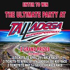 Win Your Way to the Ultimate Party at Talladega Sw