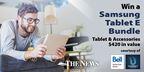 Win a SAMSUNG TABLET E Bundle