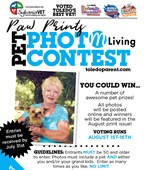 Paw Prints Pet Photo Contest