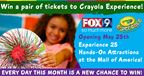 Crayola Experience Ticket Giveaway