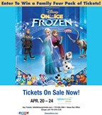 Win tickets to Frozen