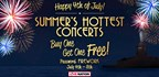 LIVE NATION 4TH OF JULY BUY ONE GET ONE FREE TICKET SALE