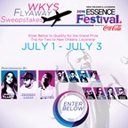WKYS Flyaway Sweepstakes to the 2016 ESSENCE Festival� Presented by Coca-Cola�