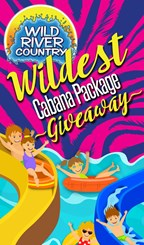Wild River Country's Wildest Cabana Package Giveaway