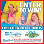 MH-Miami Seaquarium Summer Family 4 Pack Giveaway