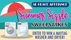 Al Grace Appliance Summer Sizzle Sweepstakes