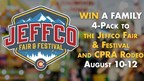 Enter to WIN Tickets to the Jeffco Fair and Festival and CPRA Rodeo August 10-12