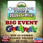 The Christian Way Farm and Mini Golf Big Event Giveaway!
