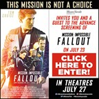 MH - MISSION IMPOSSIBLE FALLOUT Screening