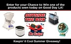 Dr. Gadget Keepin' Cool Giveaway