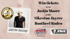 The Justin Moore Sikeston Jaycee Bootheel Rodeo Ticket Giveaway
