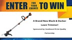 Lawn Trimmer Giveaway!