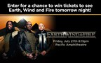 Earth, Wind and Fire Ticket Giveaway