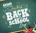 Teacher's Back-to-School Day