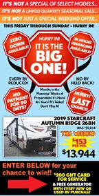 Mayflower RV 8/10-8/13