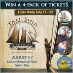 Tall Ship Festival Ticket Giveaway