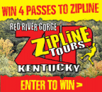 Red River Gorge Zipline Contest