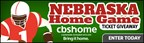 Nebraska Football Home Game Ticket Giveaway (CBSHome)