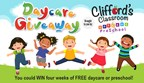 Clifford's Classroom Daycare Giveaway