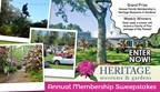 Heritage Museums and Gardens Annual Membership Sweepstakes