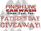Father's Day Giveaway with Finish Line Car Wash