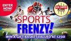 Fall Sports Frenzy Sweepstakes