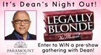 Dean's Night Out at Paramount Theatre - Legally Blonde The Musical
